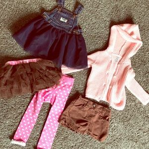 Small Lot of 6-9month Baby Clothing